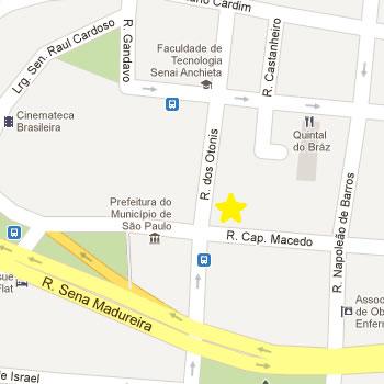 Clínica de nutrição na Vila Mariana