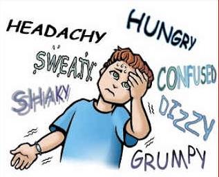 Sintomas da hipoglicemia
