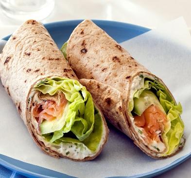 wrap no jantar - dieta fitness